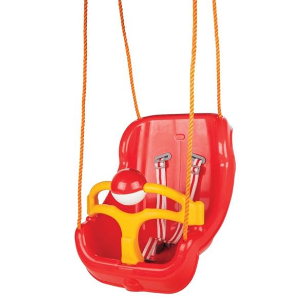 Ljuljaška crvena 41 x 51 x 36.5cm 06130 - ODDO igračke