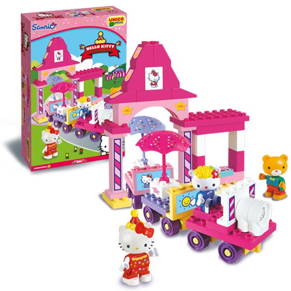 Unico Plus Hello Kitty Zabavni voz 886897 a - ODDO igračke