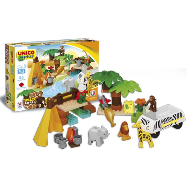 Unico Plus Safari set 085603 a - ODDO igračke