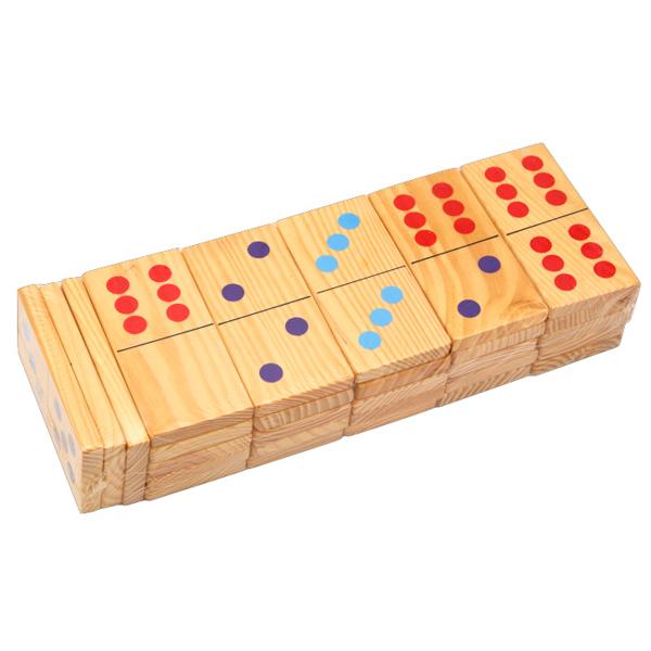 Jumbo drvene domine HY 6009 - ODDO igračke