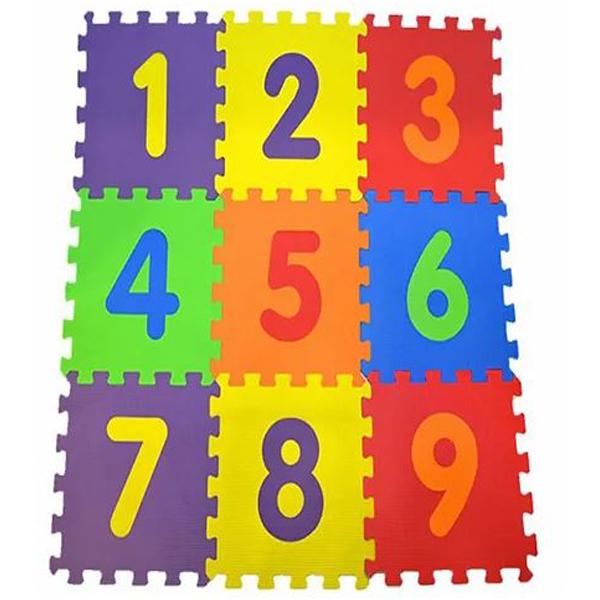 Podne Eva puzzle brojevi 9 delova 003021 - ODDO igračke