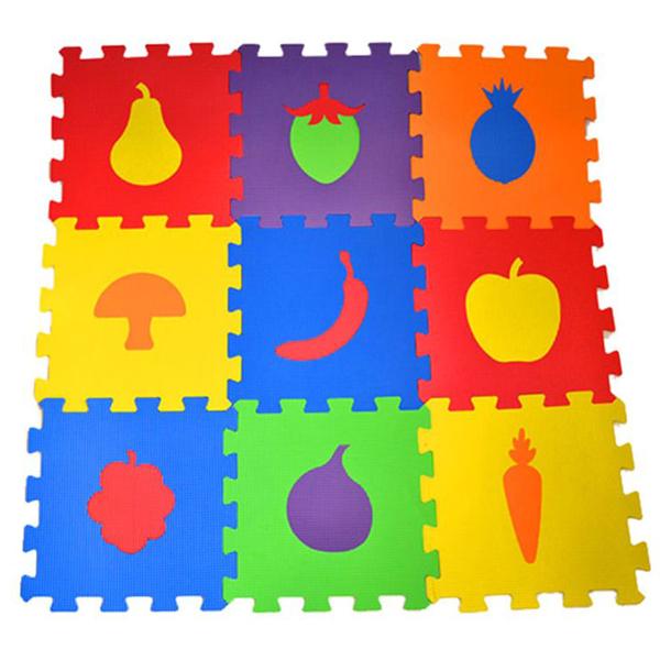 Podne Eva puzzle voćkice 9 delova 003045 - ODDO igračke