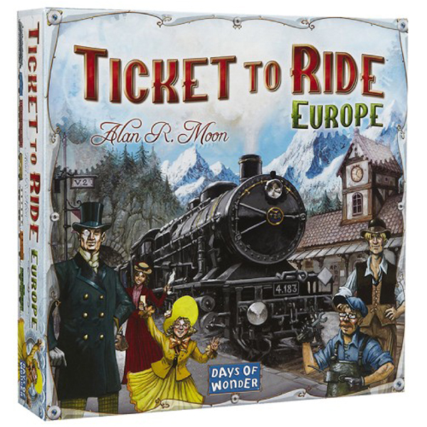 Društvena igra Ticket to Ride Europe 230022 - ODDO igračke