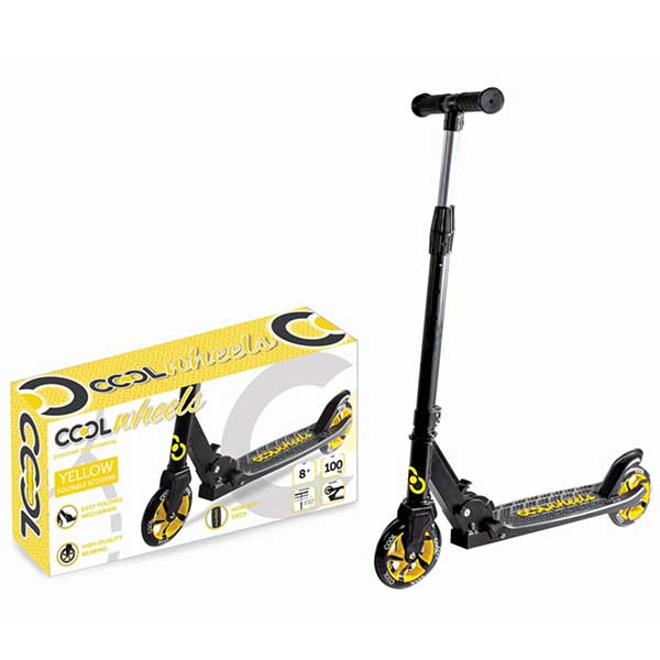 Trotinet Cool Wheels žuti 758345 - ODDO igračke