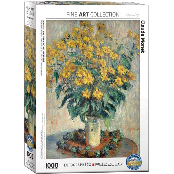 Eurographics Jerusalem Claude Monet-Artichoke Flowers 1000-Piece Puzzle 6000-0319 - ODDO igračke