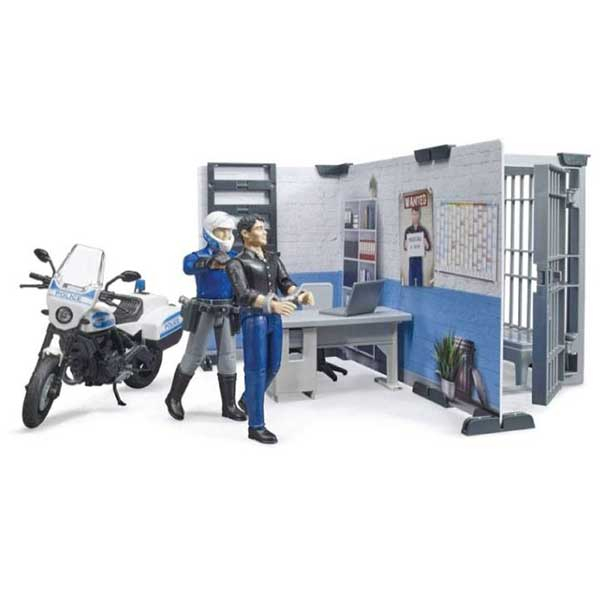 Set sa figurama policijska stanica Bruder 627324 - ODDO igračke