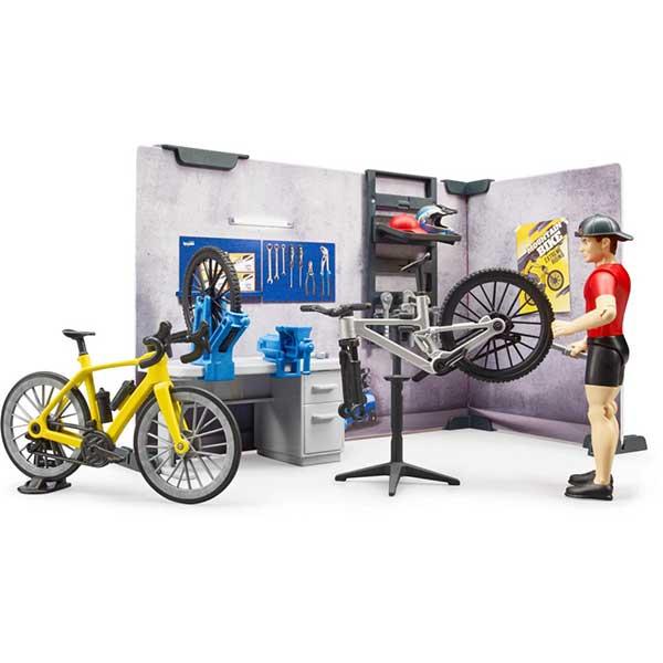 Set sa figurama bikeshop Bruder 631208 - ODDO igračke