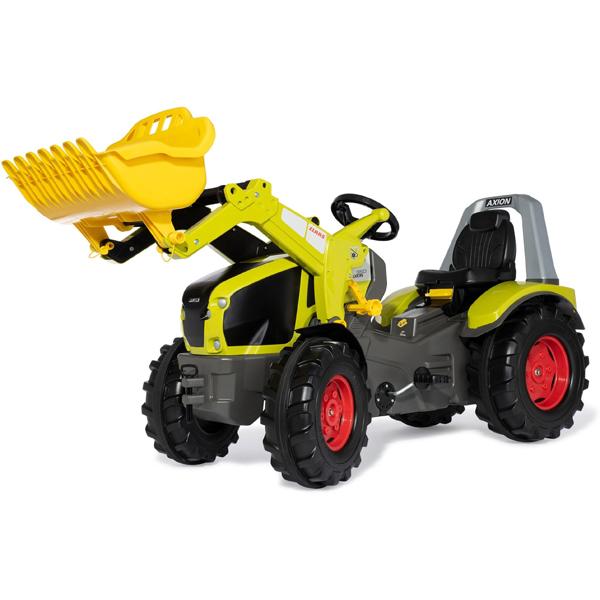 Traktor na pedale Rolly Xtrack Premium Claas Axion 950 sa kašikom 651092 - ODDO igračke