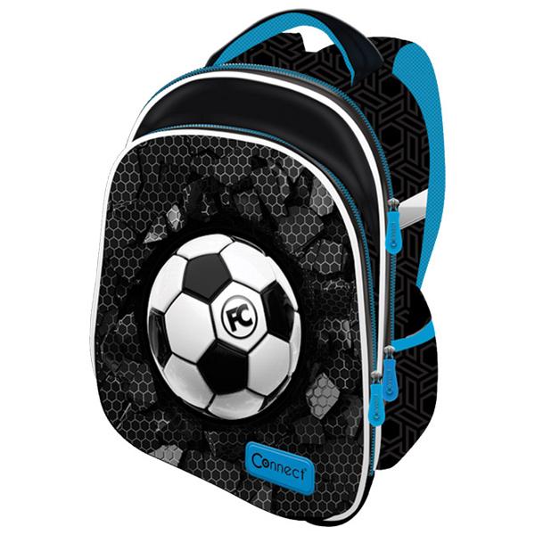 Ranac za školu anatomski lagan XT Football 21.Connect 45047 crno-svetlo plavi - ODDO igračke