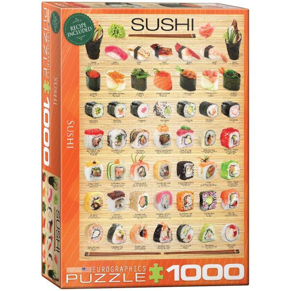 Eurographics Sushi 1000-Piece Puzzle 6000-0597 - ODDO igračke