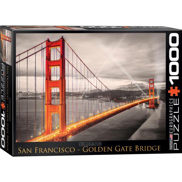 Eurographics San Francisco Golden Gate Bridge 1000-Pieces Puzzle 6000-0663 - ODDO igračke