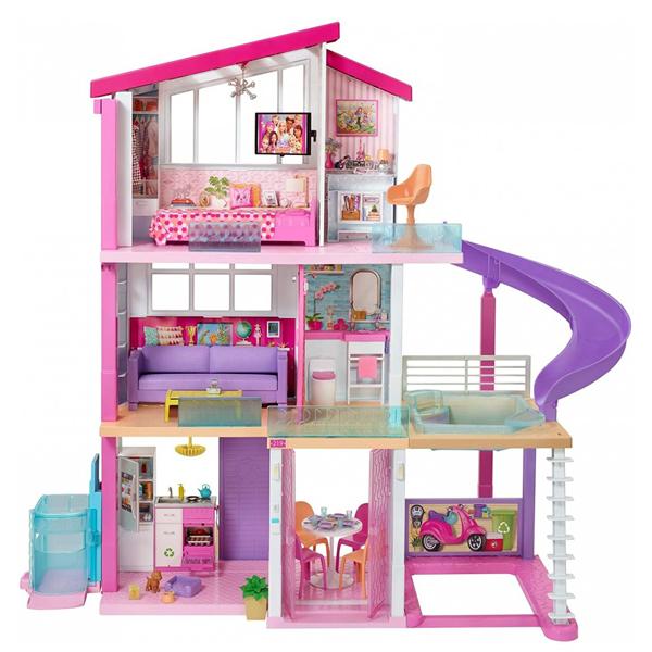 Kuća iz snova sa 3 sprata Mattel Barbie GNH53 - ODDO igračke