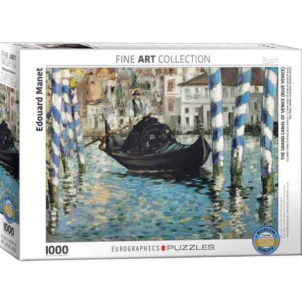 Eurographics Eduard Manet - The Grand Canal of Venice (Blue Venice) 1000-Pieces Puzzle 6000-0828 - ODDO igračke