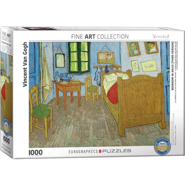 Eurographics Van Gogh - Bedroom in Arles 1000-Pieces Puzzle 6000-0838 - ODDO igračke