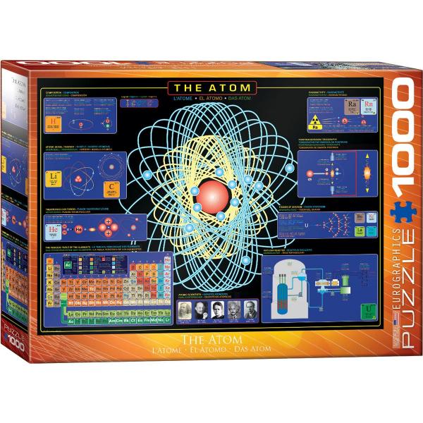 Eurographics The Atom 1000-Piece Puzzle 6000-1002 - ODDO igračke