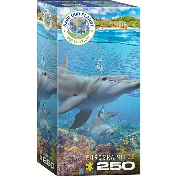 Eurographics Dolphins 250-Piece Puzzle 8251-5560 - ODDO igračke