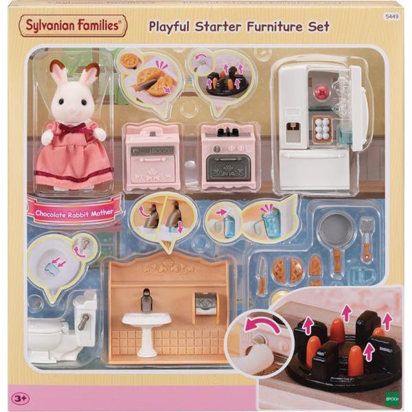Sylvanian Families Playful Starter Furniture set EC5449        - ODDO igračke