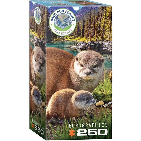 Eurographics Otters 250-Piece Puzzle 8251-5558 - ODDO igračke