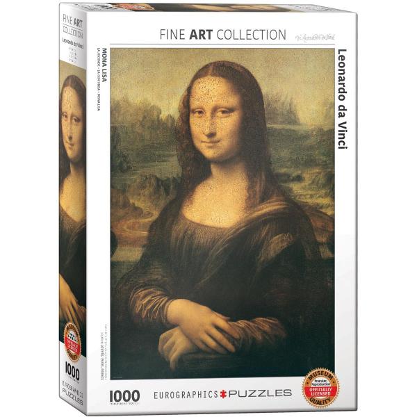 Eurographics Leonardo Da Vinci - Mona Lisa 1000-Piece Puzzle 6000-1203 - ODDO igračke