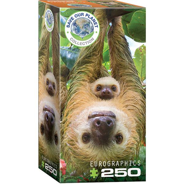 Eurographics Sloths 250-Piece Puzzle 8251-5556 - ODDO igračke