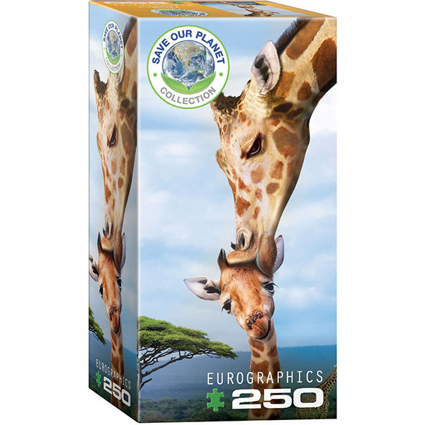 Eurographics Giraffes 250-Piece Puzzle 8251-0294 - ODDO igračke