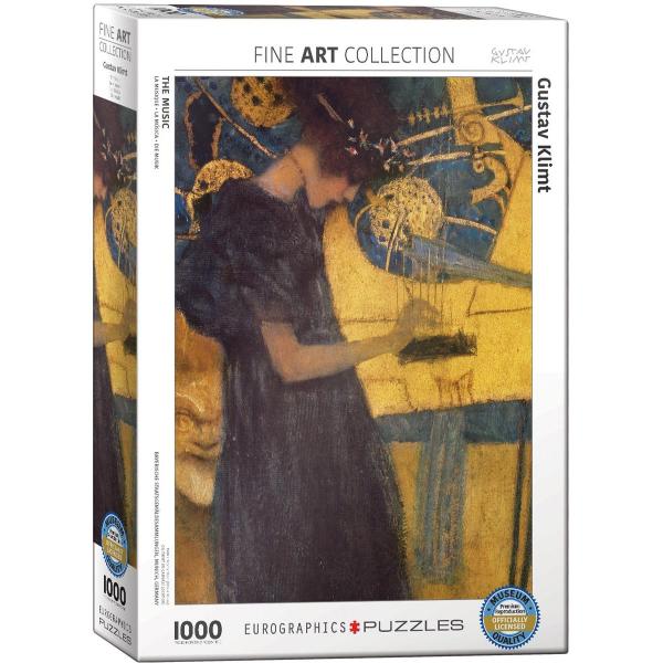 Eurographics Gustav Klimt - The Music 1000-Piece Puzzle 6000-1991 - ODDO igračke