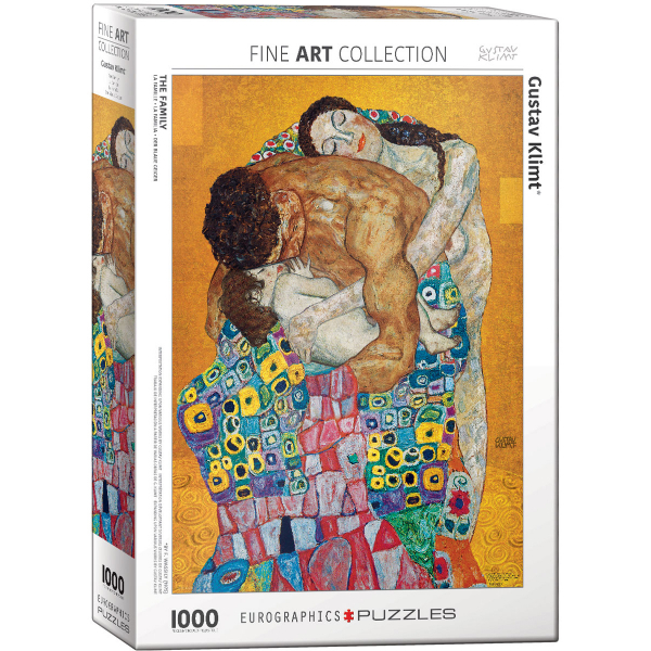 Eurographics Gustav Klimt The Family 1000-Piece Puzzle 6000-5477 - ODDO igračke