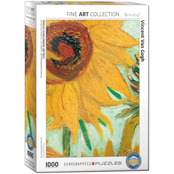 Eurographics Van Gogh, Vincent Sunflower 1000-Piece Puzzle 6000-5429 - ODDO igračke