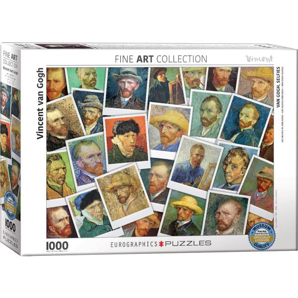 Eurographics Van Gogh Selfies 1000-Piece Puzzle 6000-5308 - ODDO igračke
