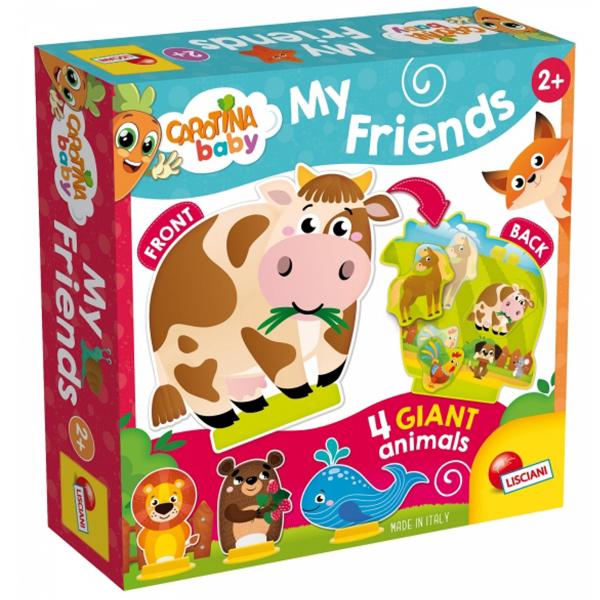Carotina Edukativna igra My Animals Friends Lisciani 85521 - ODDO igračke