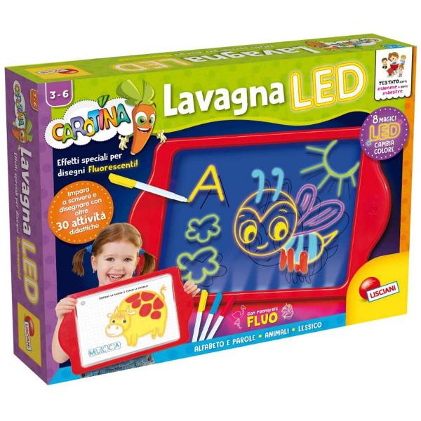 Carotina Edukativna LED tabla za crtanje i pisanje EX77441 - ODDO igračke