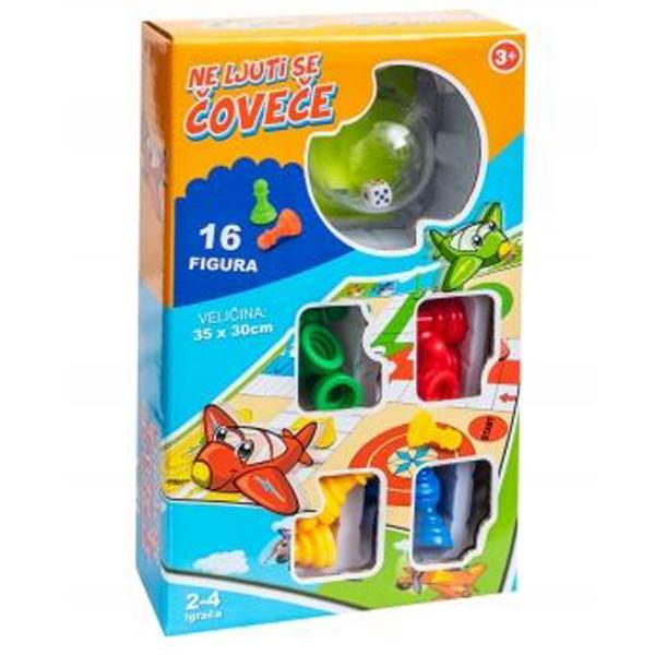 Društvena igra Ne ljuti ce čoveče 35x30cm 8703 (CR28703) - ODDO igračke