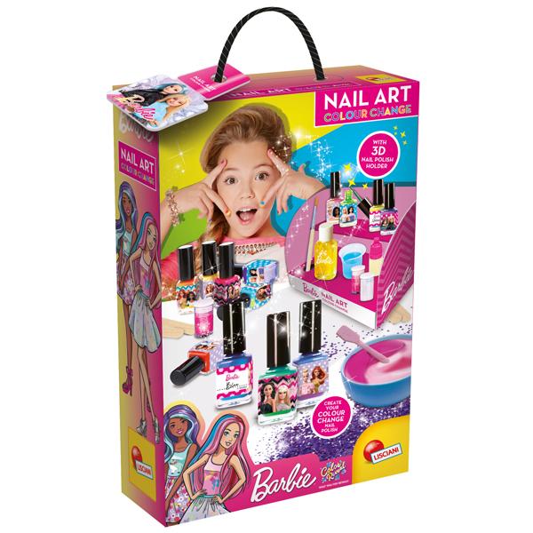 Set za sredjivanje noktiju Barbie Lisciani 86016 - ODDO igračke