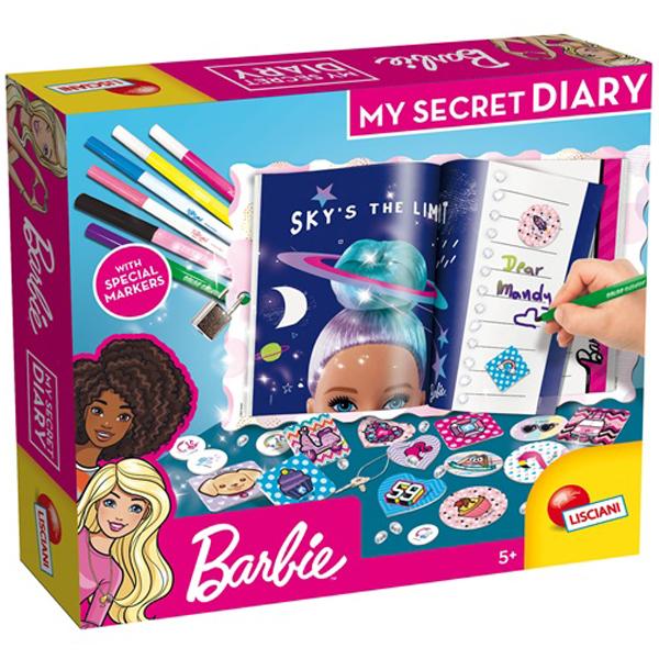 Tajni dnevnik Barbie Lisciani 86030 - ODDO igračke
