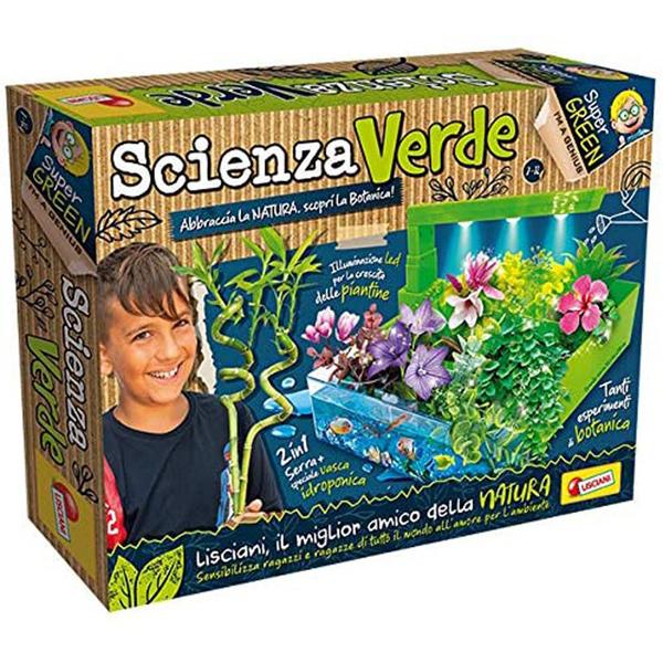 Edukativna igra zelena laboratorija Mali Genije Lisciani EX84302 - ODDO igračke