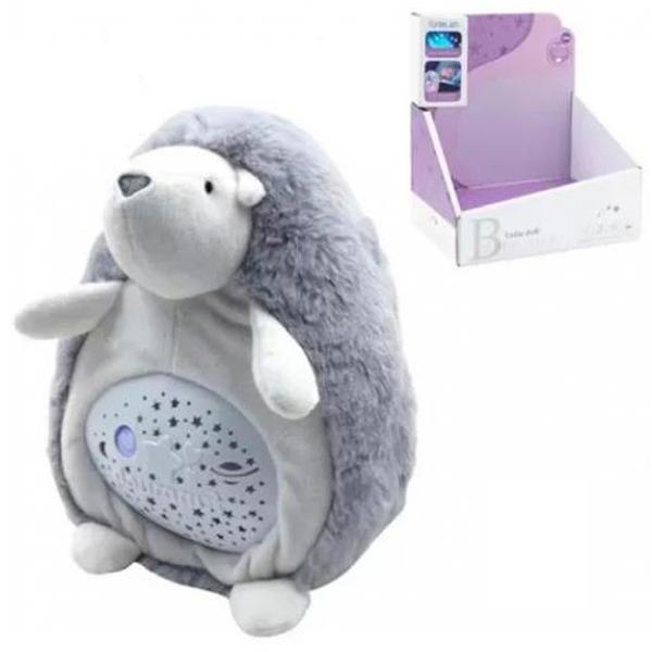 Projektor lutka jež uspavanka sa muzikom I svetlom FM666-25 - ODDO igračke
