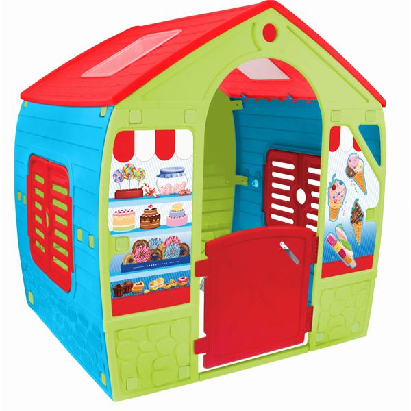Baštenska plastična kućica 102x88x108cm Mochtoys 04/12153 - ODDO igračke