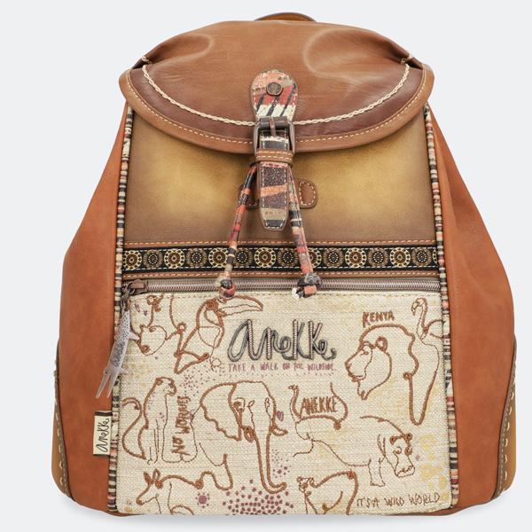 Ranac Anekke Safari Fusion Flap 32722-05-008 - ODDO igračke