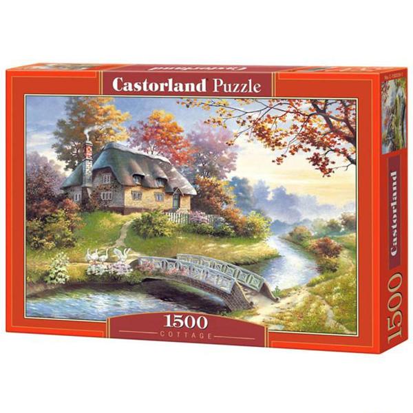 Castorland puzzla 1500 pcs Cottage 150359 - ODDO igračke