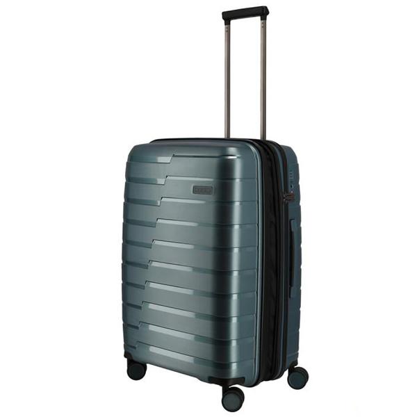 Kofer putni Travelite Air Base 4W Trolley M Iceblue Metallic 075348-25 - ODDO igračke