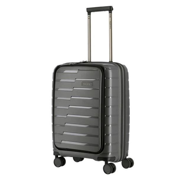 Kofer putni Travelite Air Base 4W Trolley S Front PO Antracite Metallic 075346-04 - ODDO igračke