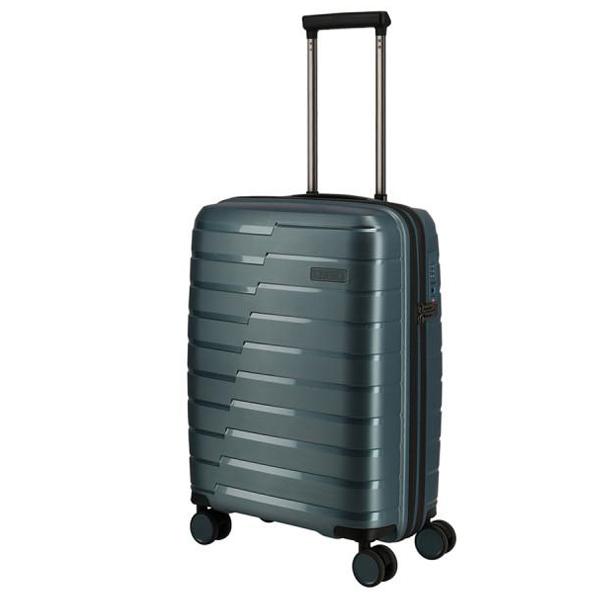 Kofer putni Travelite Air Base 4W Trolley S Iceblue Metallic 075347-25 - ODDO igračke