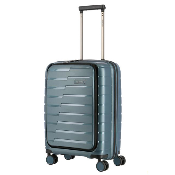 Kofer putni Travelite Air Base 4W Trolley S Front PO Iceblue Metallic 075346-25 - ODDO igračke