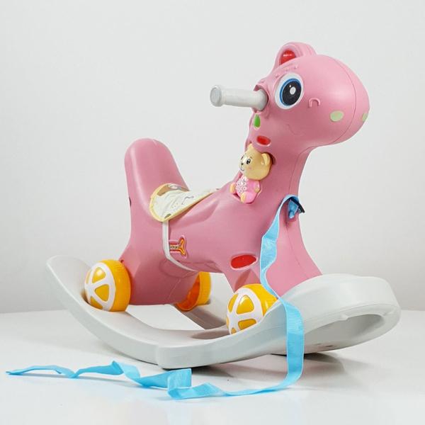 Njihalica Dino Baby roze model 625 - ODDO igračke