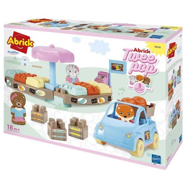 Market set Ecoiffier SM003018 - ODDO igračke
