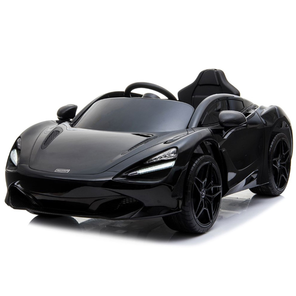 Auto na akumulator MCLAREN 720S crni model 272 - ODDO igračke