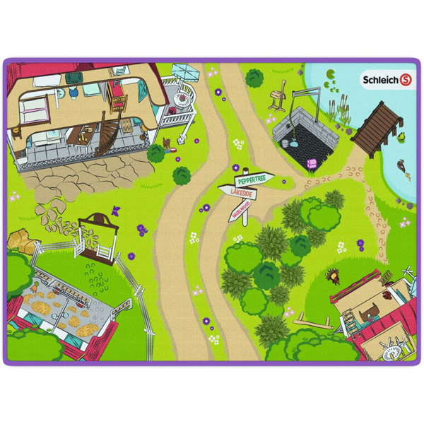 Podloga za igru Schleich 42465 - ODDO igračke
