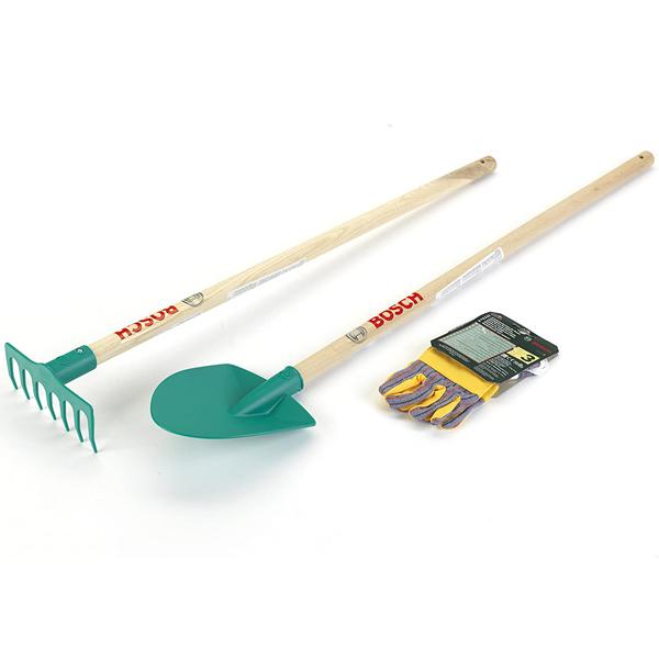 Klein Bosch Set grabulje, lopata I rukavice za baštu KL2712 - ODDO igračke