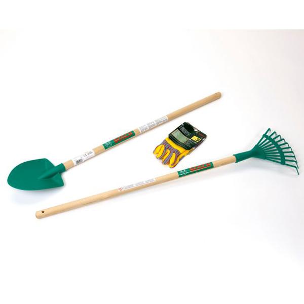 Klein Bosch Set grabulje, lopata I rukavice za baštu KL2743 - ODDO igračke