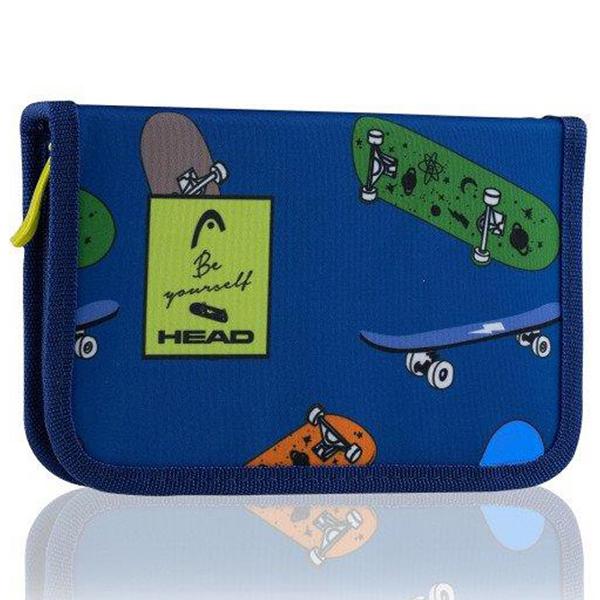 Pernica puna 1zip 2preklopa HD-410 Kids Head 503020008 plavo-šareni - ODDO igračke